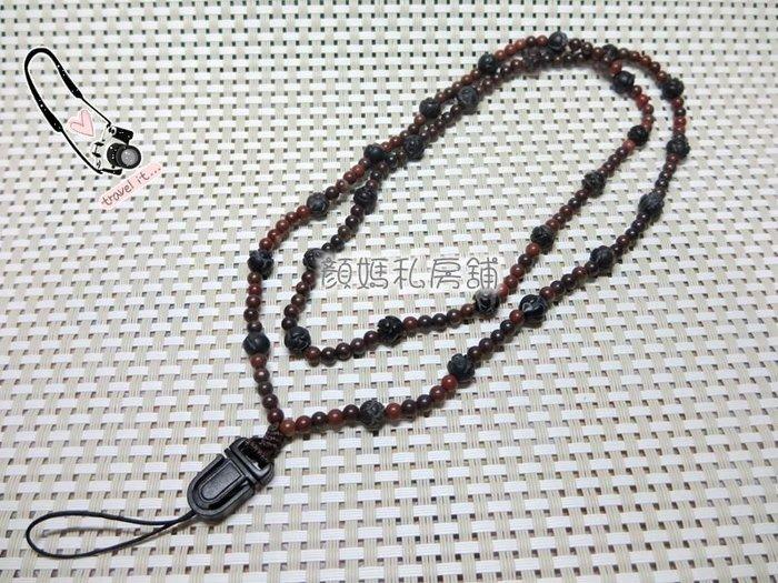 顏媽私房舖㊣悅康㊣玫瑰花阿卡長鍊手機吊飾    結緣價2280元