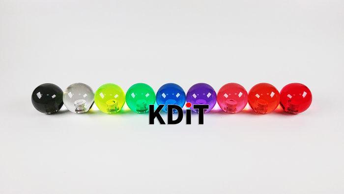 KDIT 凱迪特透明圓頭 格鬥搖桿專用 清水 三合