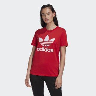南◇2020 5月 adidas Originals Trefoil Tee  FM3302  短TEE 三葉草 大紅色