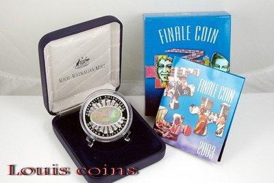 【Louis Coins】F007‧Australia‧2003澳洲‧澳洲志工雷射幻彩紀念銀幣