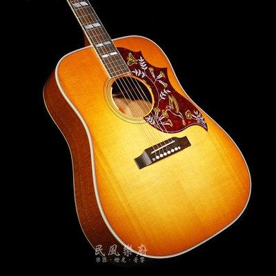 《民風樂府》美廠 Gibson Hummingbird Figured Mahogany 火焰桃花心木 全球限量50把