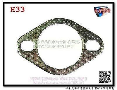 起亞 2.0 CONCORD 福豹 2.0 PANTHER 55.5mm車用墊片 H33 另有現場代客施工 排氣音量改善