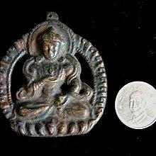 【五輪塔】佛教文物,『卍老件佛牌B卍』(如圖示)