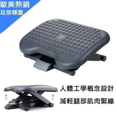 《瘋椅世界》【歐美熱銷商品】旗艦版人體工學『足部釋壓增高腳踏墊』 可輔助身高結合與座椅的貼身性 有效降低疲勞 肌肉緊繃