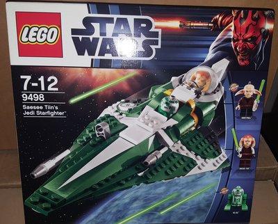MISB LEGO STAR WARS - Saesee Tiin's Jedi Starfighter (9498)