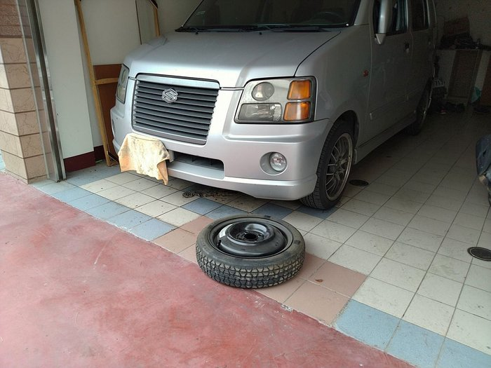 solio 預備應急備用車輪胎