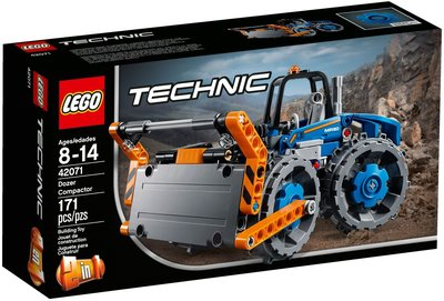 【積木王國】LEGO樂高 Technic 推土壓實機 42071