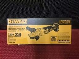 {專營工具}全新 DEWALT 得偉 DCG413FB 無刷 4吋5寸都可用 砂輪機 切割機