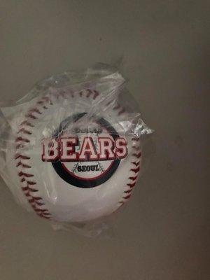 韓國職棒 ALL STAR 棒球 斗山熊 紀念棒球 簽名球 E 2/4~2/5 一日限定