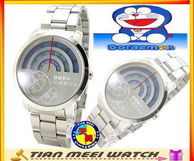 【天美鐘錶】【超低價有保固】全新原廠公司貨-小叮噹DORAEMON-體重機造型-圓小