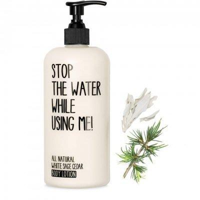 Stop the Water while Using Me!~白鼠尾草雪松潤膚乳~200ml~可面交~全新~