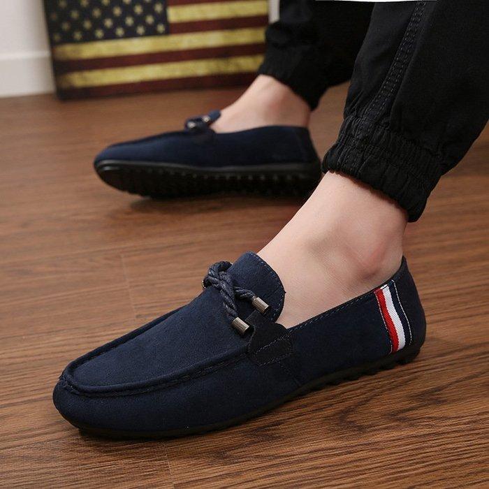【每日一特價】豆豆防臭鞋子春季老北京青年男鞋板鞋帆布鞋一腳蹬懶人休閒鞋休閒風