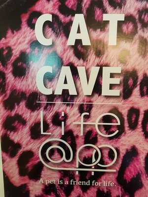 🌷小福袋o🌷Life App CAT CAVE寵愛貓窩《叢林-粉色豹紋》保暖狗床狗窩貓床.貓窩47*39*26