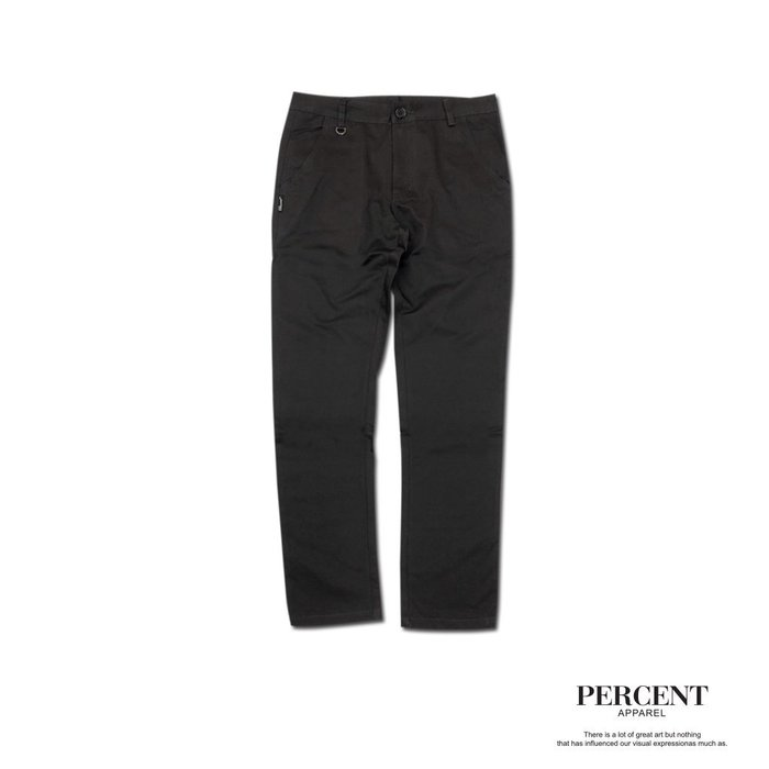 PERCENT %WT5003 經典素面工作長褲 灰色