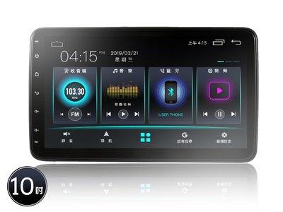 JHY A系列安卓機10吋適用車型A23-10吋萬向通用機