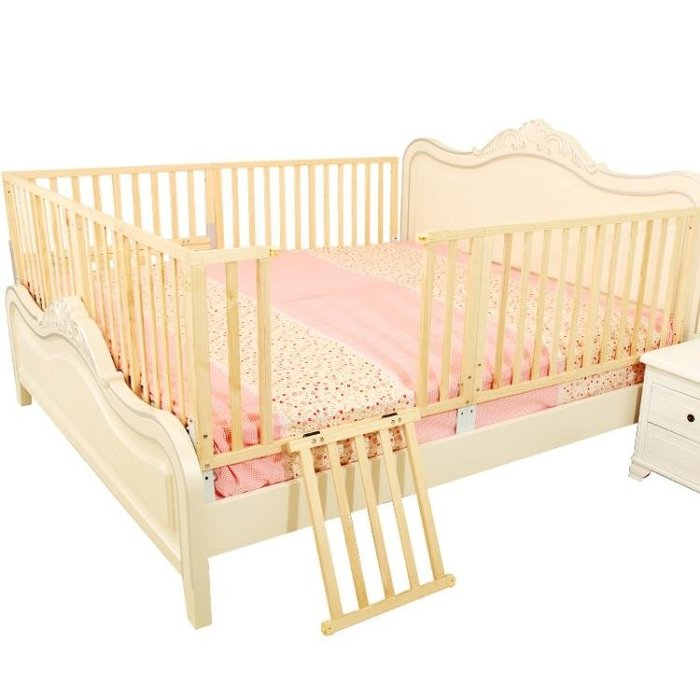 寶寶掉床圍欄兒童床欄防摔防護欄擋板zg