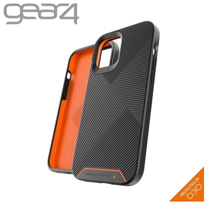 Gear4 iPhone 12 mini / Pro Max 抗菌5米防摔 BatterSea 條紋殼 喵之隅