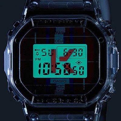 LIN老闆 6 ~ CASIO G-SHOCK x 佐藤可士和 DWE-5600KS-7DR 替換式錶殼 錶帶 小正方