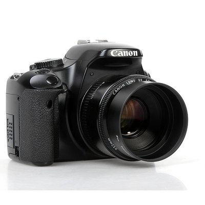58mm標準金屬遮光罩 適用 for佳能 canon 50 1.4尼康 nikon 50 1.4g/1.8g單反鏡頭用
