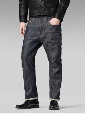 喵 94新 g-star RE US Lumber Straight  牛仔褲 赤耳 14重磅 原色 日本布  W30