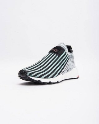# ADIDAS EQT SUPPORT SOCK PRIMEKNIT 黑綠 運動鞋 女鞋 流行 B37530 YTS