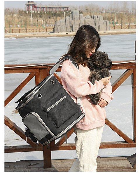 免運-加大寵物背包秋冬季保暖貓包外出包 【樂購大賣家】