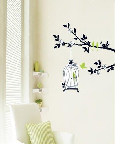 【皮蛋媽的私房貨】韓國進口壁貼&壁紙*室內設計/裝飾*高質感鳥籠系列