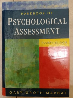 (36)《psychological assessment 4e》ISBN:0471419796│些微泛黃