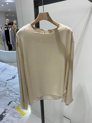 雨潤韓國直郵代購㊣0916秋款 View Y-P純色大圓領簡約時尚襯衫