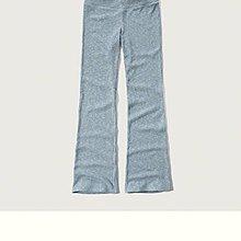 Maple麋鹿小舖 Abercrombie&Fitch * AF 淺藍色休閒長寬褲 * ( 現貨XS/S號 )