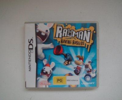 NDS  瘋狂兔子 雷曼兔 英文版 Rayman Raving Rabbids
