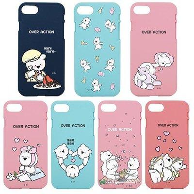 韓國 愛跳舞的兔子 浮誇兔 強化軟殼 手機殼│iPhone 5S SE 6 6S 7 8 Plus│z8343