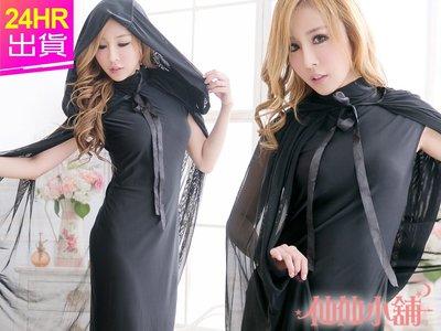 仙仙小舖 HD3064黑  秘教祭司 女巫角色扮演 角色服Party 萬聖節 聖誕節 表演服
