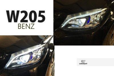 》傑暘國際車身部品《全新賓士BENZ W205 C300 C200 C180 2020年樣式 舊款升級新款 LED 大燈