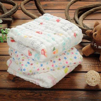 現貨 6層紗布巾 50*90全棉 嬰幼兒毛巾 嬰幼兒口水巾 寶寶毛巾 新生兒手