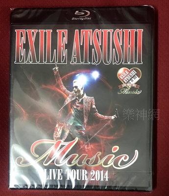放浪兄弟EXILE ATSUSHI Live Tour 2014 Music (日版藍光Blu-ray通常盤) BD