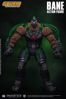 Storm Collectibles 1/12 Bane Injustice 班恩~2020/2/15上市,預購中
