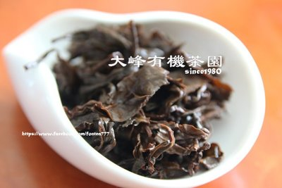 【店長推薦】【茶葉裸包】大峰有機茶園-特選手採有機蜜香紅茶----600元/100g入