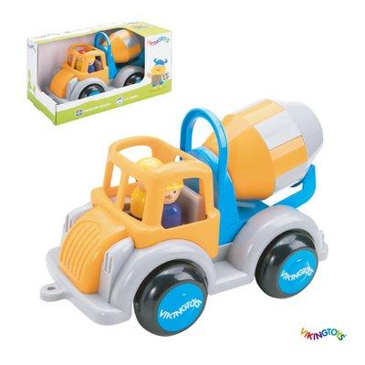 【晴晴百寶盒】瑞典進口 威力攪拌車 VIKINGTOYS 男孩最愛 車車控 禮物益智遊戲玩具高品質W207