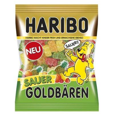 德國原裝 金小熊 Haribo Sauer 酸小熊軟糖 200g