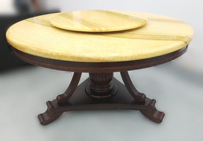 【宏品二手家具館】中古F5139*圓形石面餐桌 二手各式桌椅 中古辦公家具買賣 會議桌椅 台北新竹免運