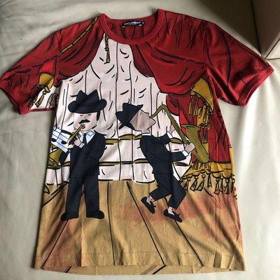 [品味人生]保證正品 Dolce &Gabbana DG  night club   短袖T恤 短T size 52