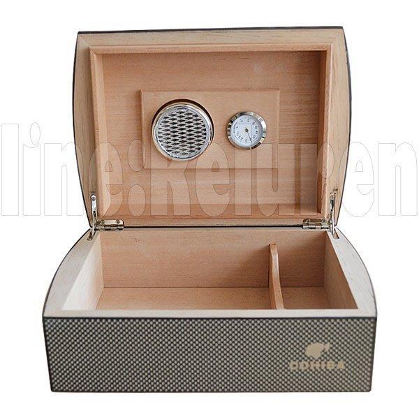 【Y】cohiba高希霸進口雪茄保濕盒雪松木恒濕加濕碳纖維保濕箱JS8