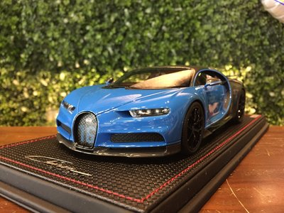 1/18 MR Bugatti Chiron Sport French Racing Blue BUG07B【MGM】