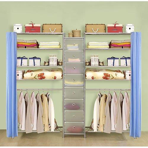 【中華批發網DIY家具】D-62D-03-W5型90+pp+W5型90衣櫥置物櫃-(前罩)不織布