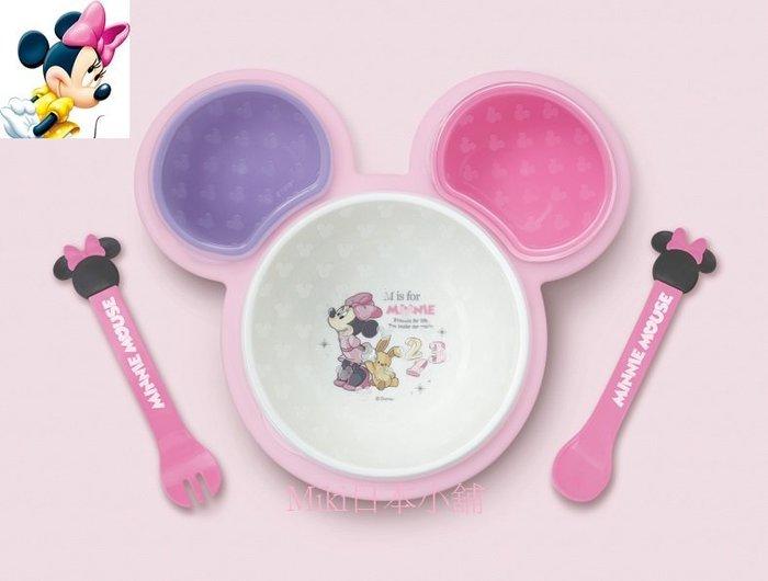 *Miki日本小舖*日本迪士尼Minnie 米妮造型餐具/兒童餐具組/禮盒組6件入