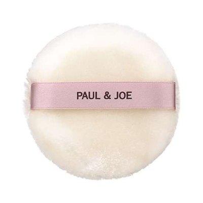 【Q寶媽】PAUL&JOE 糖瓷珍珠蜜粉撲 全新專櫃貨 中文標籤
