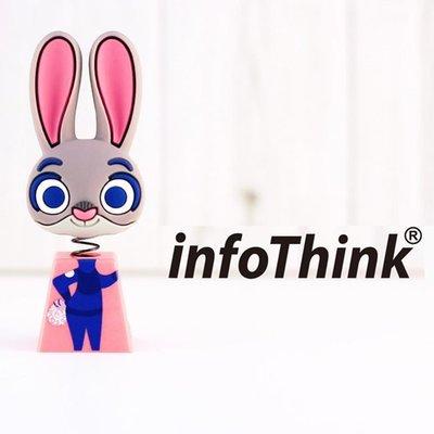 【紫色風鈴】特價 InfoThink ZOOTOPIA 兔子搖頭造型隨身碟 32GB