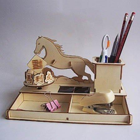 太陽能DIY組裝模型太陽能木質立體拼圖 組裝模型 DIY組裝聖誕禮物 科普教材 旋轉木馬