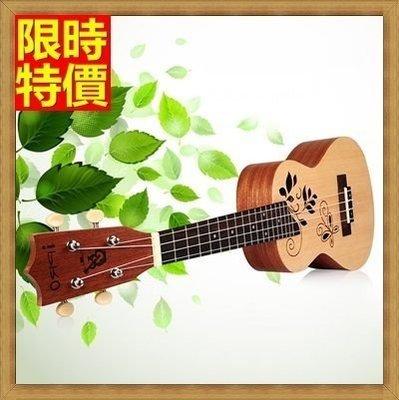 烏克麗麗 ukulele-23吋夏威夷吉他雲杉木合板四弦琴樂器69x25[獨家進口][米蘭精品]